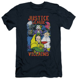 Justice League - Justice For America (slim fit) T-shirts