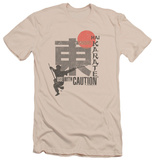 Hai Karate - Caution (slim fit) T-Shirt