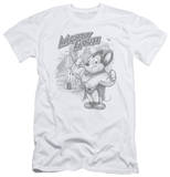 Mighty Mouse - Protect And Serve (slim fit) T-Shirt