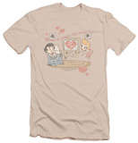 I Love Lucy - Home Is Where The Heart Is (slim fit) T-shirts