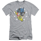Justice League - Face Off (slim fit) T-Shirt