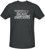Invasion of the Body Snatchers - Distressed Logo (slim fit) T-shirts