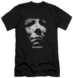 Halloween II - Mask (slim fit) Shirts