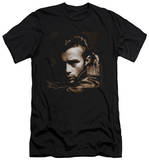 James Dean - Brown Leather (slim fit) Shirt