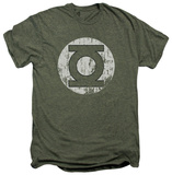 Green Lantern - Distressed Lantern (premium) T-shirts