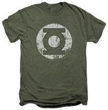 Green Lantern - Distressed Lantern (premium) T-shirts