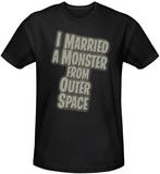 I Married a Monster From Outer Space - Title (slim fit) Shirts