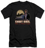 Knight Rider - Full Moon (slim fit) Shirts