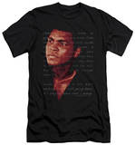 Muhammad Ali - Champion's Speech (slim fit) T-shirts