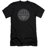 Green Lantern - Black Symbol (slim fit) T-Shirt