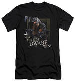 Lord Of The Rings - The Best Dwarf (slim fit) T-shirts