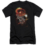 Lord Of The Rings - You Shall Not Pass (slim fit) Shirt