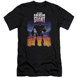 Iron Giant - Poster (slim fit) T-shirts