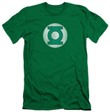 Green Lantern - GL Logo Distressed (slim fit) T-shirts