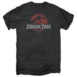 Jurassic Park - Faded Logo (premium) T-Shirt