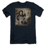 Lord Of The Rings - Return of the King Poster (slim fit) Shirts