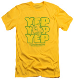 Land Before Time - Yep Yep Yep (slim fit) Shirts