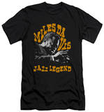 Miles Davis - Jazz Legend (slim fit) T-shirts