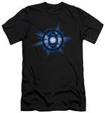 Green Lantern - Indigo Glow (slim fit) T-shirts