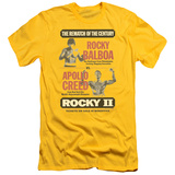 Rocky II - Rematch (slim fit) Shirts