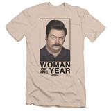 Parks & Recreation - Woman Of The Year (slim fit) T-shirts