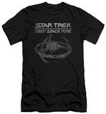 Star Trek - Deep Space 9 Station (slim fit) T-shirts