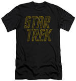 Star Trek - Distressed Logo (slim fit) T-shirts