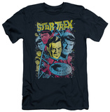 Star Trek - Classic Crew Illustrated (slim fit) T-Shirt
