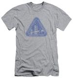 Star Trek - Distressed Logo (slim fit) Shirts
