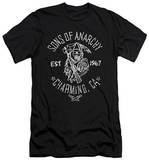 Sons Of Anarchy - Fabric Paint (slim fit) Shirt