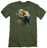 The Hobbit - Legolas Greenleaf (slim fit) T-shirts