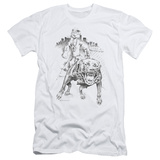 Popeye - Walking The Dog (slim fit) T-shirts