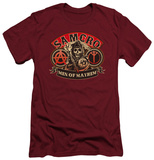 Sons Of Anarchy - Men Of Mayhem (slim fit) T-shirts