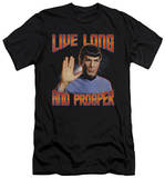 Star Trek - Live Long And Prosper (slim fit) T-shirts