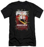 Shaun Of The Dead - Poster (slim fit) T-shirts