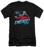 Star Trek - Engage (slim fit) T-shirts