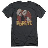 Popeye - Retro Ring (slim fit) T-shirts