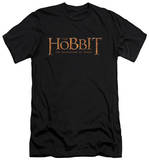 The Hobbit: The Desolation of Smaug - Logo (slim fit) T-shirts