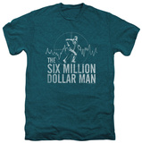 The Six Million Dollar Man - Target (premium) T-shirts