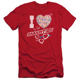 Smarties - I Heart Smarties (slim fit) Shirt