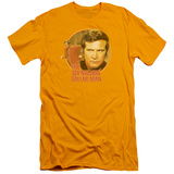 The Six Million Dollar Man - Run Faster (slim fit) T-shirts