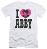 NCIS - I Heart Abby (slim fit) T-Shirt