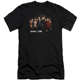 Queer As Folk - Title (slim fit) T-shirts