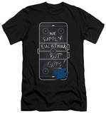 Slap Shot - Chalkboard (slim fit) T-shirts