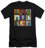 Star Trek - Alien Squares (slim fit) T-shirts