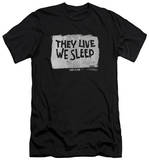 They Live - We Sleep (slim fit) T-Shirt