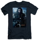 The Hobbit: An Unexpected Journey - Thorin Poster (slim fit) T-Shirt