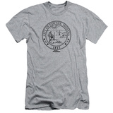 Parks & Recreation - Pawnee Seal (slim fit) T-shirts