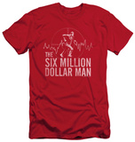 The Six Million Dollar Man - Target (slim fit) T-shirts
