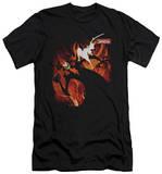 Samurai Jack - Jack Vs Aku (slim fit) T-shirts